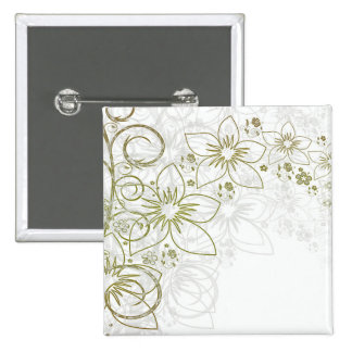 Floral Art Pins