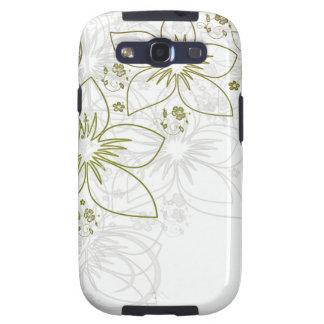 Floral Art Samsung Galaxy SIII Cover