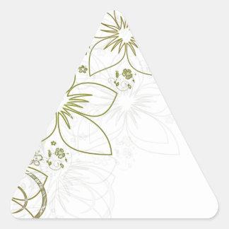 Floral Art Sticker