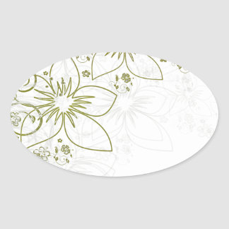 Floral Art Stickers