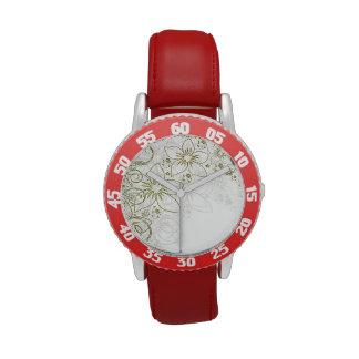 Floral Art Wrist Watches
