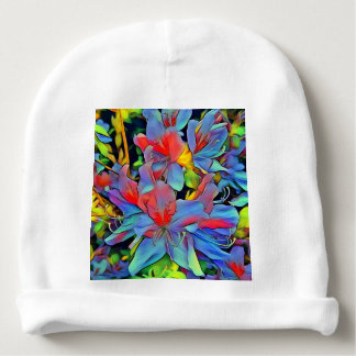 Floral ArtStudio wonderful flowers Baby Beanie