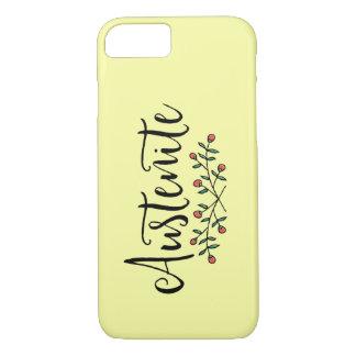 Floral Austenite Yellow iPhone 8/7 Case