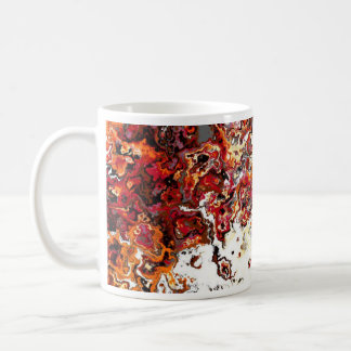 Floral Autumn Swirl Designer Mug