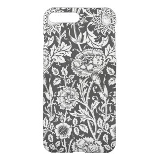 Floral B&W iPhone7 Plus Clear Case