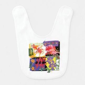 Floral - Baby bib