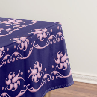 Floral baroque style pattern. tablecloth