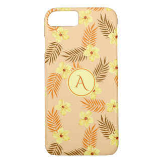 Floral Beautiful yellow and orange design. Case-Mate iPhone Case