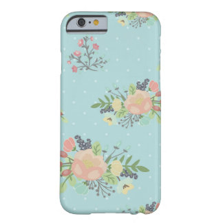 Floral Beauty seamless pattern Barely There iPhone 6 Case
