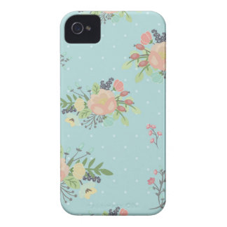 Floral Beauty seamless pattern iPhone 4 Covers