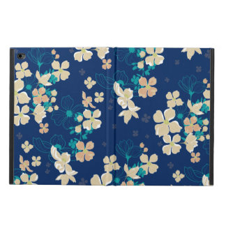 Floral Beige and Teal Powis iPad Air 2 Case