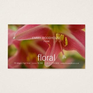 Floral - Belladonna Lily Business Card