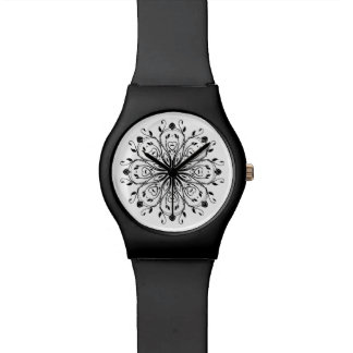 FLORAL  | black Watches