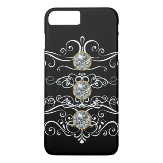 Floral Bling Design iPhone 8 Plus/7 Plus Case