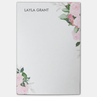 Floral Blooms Post-it Notes