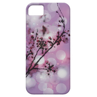 Floral blossom spring sparkle pattern iPhone5 case