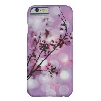 Floral blossom spring sparkle pattern iPhone 6 cas Barely There iPhone 6 Case