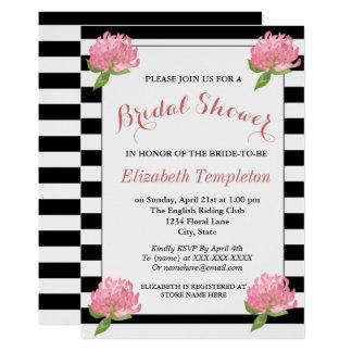 Floral Botanical Modern Pattern Bridal Shower Card