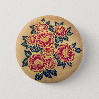 floral bouquet 2 inch round button