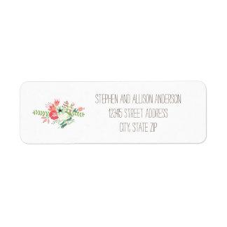 Floral Bouquet - Address Labels