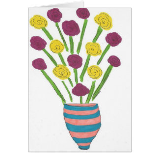 Floral Bouquet All-Purpose Greeting Card