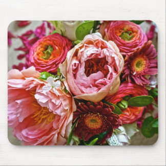 Floral bouquet, Mousepad