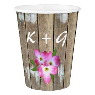 Floral Bridal Shower Paper Cups
