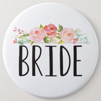 Floral | Bride Button
