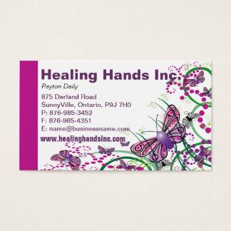 Floral Business Card Design-1