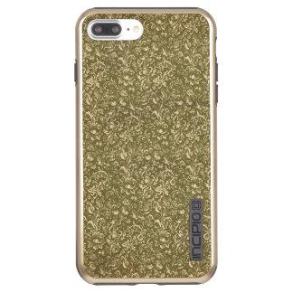 Floral Calico Cowboy Western USA Print Kale Green Incipio DualPro Shine iPhone 8 Plus/7 Plus Case