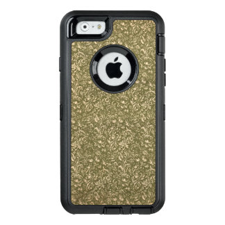Floral Calico Cowboy Western USA Print Kale Green OtterBox iPhone 6/6s Case