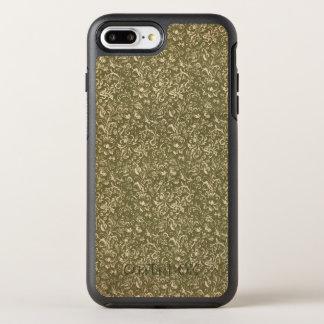 Floral Calico Cowboy Western USA Print Kale Green OtterBox Symmetry iPhone 8 Plus/7 Plus Case