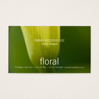 Floral - Calla Business Card