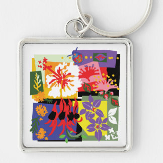 Floral Celebration - Keychain