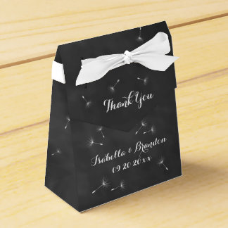 Floral Chalkboard Favor Box