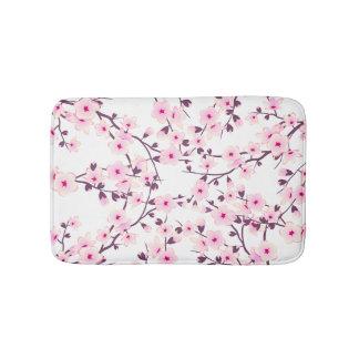 Floral Cherry Blossoms Bath Mat