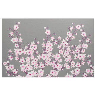 Floral Cherry Blossoms Fabric
