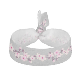 Floral Cherry Blossoms Hair Tie