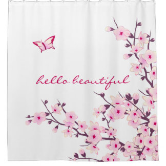 Shower Curtains cherry blossom shower curtains : Cherry Blossom Shower Curtains | Zazzle Canada