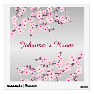 Floral Cherry Blossoms Wall Decal