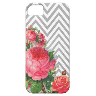 Floral Chevron Case Mate  iPhone 5 Case