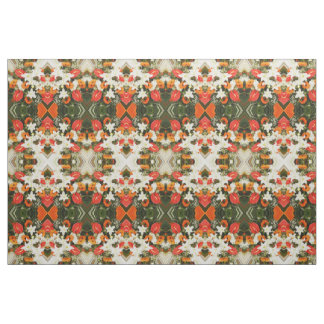 Floral chic fabric