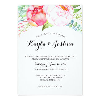 Floral Chic Invitation