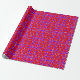 Floral Christmas Wrapping Paper