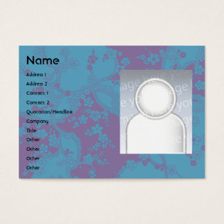 Floral - Chubby Business Card