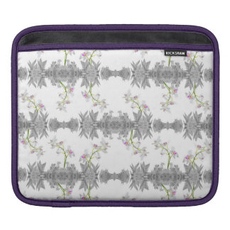 Floral Collage Pattern iPad Sleeve