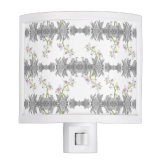 Floral Collage Pattern Night Lite