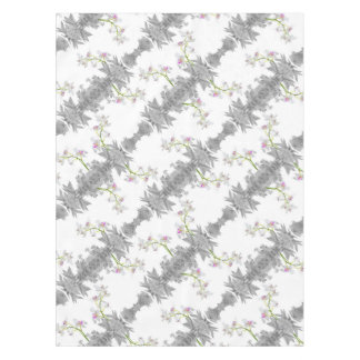 Floral Collage Pattern Tablecloth
