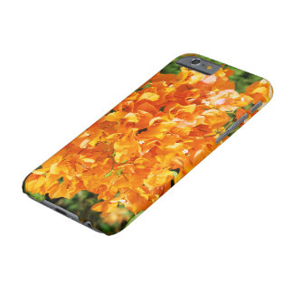 floral collection. orange barely there iPhone 6 case