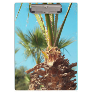 floral collection. palm clipboard
